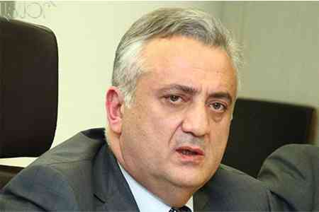 Artur Javadyan presented specifics of Armenia`s monetary policy at a  meeting of the Club of Central Bank Heads