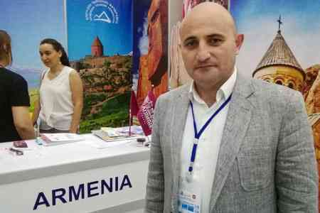 Mekhak Apresyan: Tourist flow to Armenia will increase by 15% in 2019